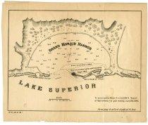 Image of Early Grand Marais Harbor