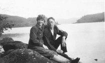 Image of Anna Johnson and Algot Swanson, husband of Anna Swanson (Doris Popham and L