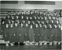 Image of Class of 1961 graduation