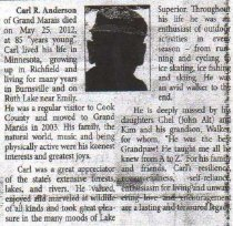 Image of Carl R. Anderson obituary