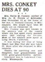 Image of Nettie Conkey obituary