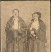 Image of Sisters Mary Hazzard and Anna Dodgson, Mount Lebanon, NY