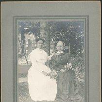 Image of Lillian Barlow and Margaret Eggleston, Second Family, Mount Lebanon, NY