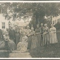 Image of [Group of North Family Shakers] - North Family, Mount Lebanon, NY