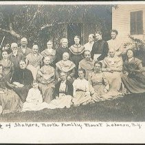 "Image of ""A Group of Shakers, North Family"" - Mount Lebanon, NY"