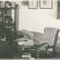 Image of [Shaker Sister in Bedroom] - Mount Lebanon, NY