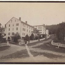 Image of Lower and Upper Dwelling Houses, North Family, Mount Lebanon, NY