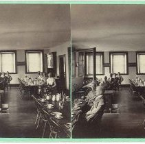Image of Center Family Dining Room at Mount Lebanon, New York