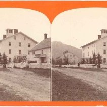 Image of [Second Family's Dwelling and Office, Mt. Lebanon, N. Y.] - Mount Lebanon, New York