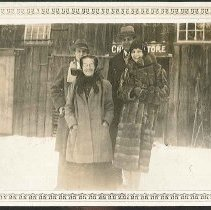Image of [Sister Sarah Collins With Guests, 1928] - Mount Lebanon, NY
