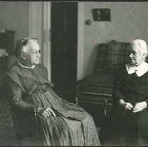 Image of [Two Seated Sisters] - Mount Lebanon, NY
