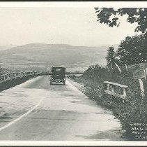 Image of Crossing Mass-NY State Line, Above Mt. Lebanon Shakers - Mount Lebanon, NY