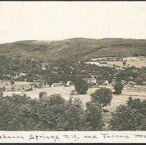 """Image of """"Lebanon Springs, NY, and Taconic Mts."""" - Mount Lebanon, NY"""