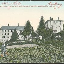 Image of North Family Buildings and Garden, Shaker Village, Mount Lebanon N.Y. - Mount Lebanon, NY