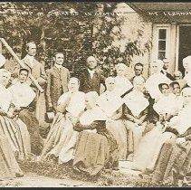 Image of Group of Shakers in Costume, Mount Lebanon N.Y. - Mount Lebanon, NY