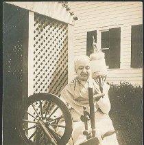Image of Shaker Spinning Wheel, Mount Lebanon, N.Y. - Mount Lebanon, NY