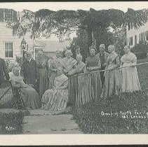 Image of Group of North Family Shakers, Mount Lebanon N.Y. - Mount Lebanon, NY