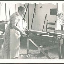 Image of Making Butter, North Family Shakers - Mount Lebanon, NY