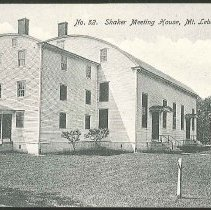 Image of No. 52. Shaker Meeting House, Mt. Lebanon, N.Y. - Mount Lebanon, NY