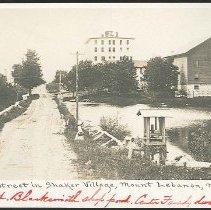 Image of Street in Shaker Village, Mt. Lebanon, N.Y. - Mount Lebanon, NY