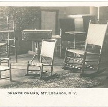 Image of Shaker Chair Showroom, South Family, Mount Lebanon, New York (recto)