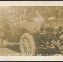 Image of Shaker Sister's (sic) Ready For an Auto Ride, Mt. Lebanon N.Y. - Mount Lebanon, NY