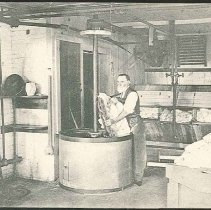 Image of A Shaker Wash-Room, Mt. Lebanon, N.Y. - Mount Lebanon, NY