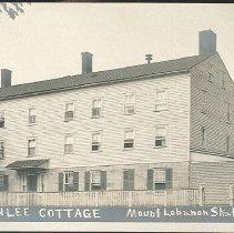 Image of Ann Lee Cottage, Center Family, Mount Lebanon, NY