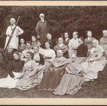Image of Group with Hedge - Mount Lebanon, NY