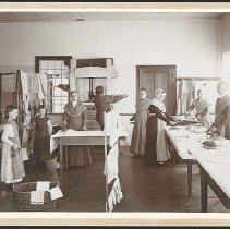 Image of [In the Drying Room] - Mount Lebanon, NY