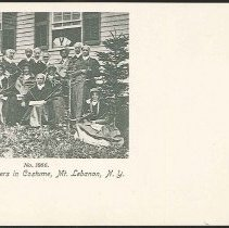 Image of No. 1066. Group of shakers in Costume, Mt. Lebanon N.Y. - Mount Lebanon, NY