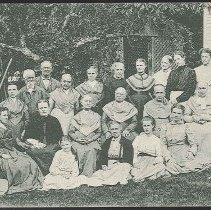 Image of Group of Shakers, Mt. Lebanon N.Y. - Mount Lebanon, NY