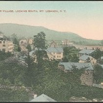 Image of Shaker Village, Looking South, Mt. Lebanon N.Y. - Mount Lebanon, NY