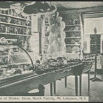 Image of Interior of the Shaker Store, North Family, Mount Lebanon, NY