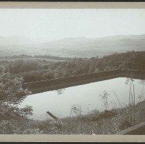 Image of [Shaker Built Reservoir on Lebanon Mountain] - Mount Lebanon, NY