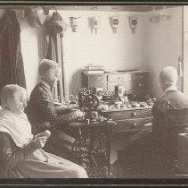 "Image of ""Sisters' Sewing Room"" - Mount Lebanon, NY"
