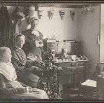 Image of [Mary Hazzard, Emma Neale, and an Unidentified Sister] - Mount Lebanon, NY
