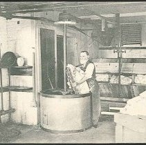"Image of ""Elder Daniel Offord in Shaker Wash-Room"" - Mount Lebanon, NY"