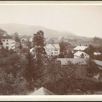 Image of [View Looking South from the Cupola of the Great Stone Barn] - Mount Lebanon, NY