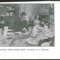 Image of Visitor's Dining Room North Family, Mount Lebanon (N.Y.) Shakers - Mount Lebanon, NY