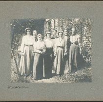 Image of [Group of Eight Sisters, South Family] - Mount Lebanon, NY