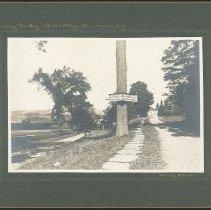 "Image of ""Pointing the Way. Shaker Village, Mt. Lebanon, N.Y."" - Mount Lebanon, NY"