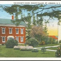 Image of the Bishop's House, Shaker Village, Mt. Lebanon, N.Y. - Mount Lebanon, NY