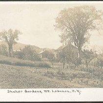 "Image of ""Shaker Gardens, Mt. Lebanon, N.Y."" - Mount Lebanon, NY"