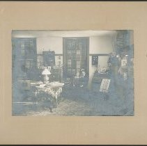 Image of [Woman and Child in Room] - Mount Lebanon, NY
