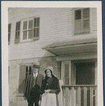 Image of [Sadie Neale and Unknown Man] - Mount Lebanon, NY