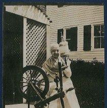 "Image of ""Shaker Spinning Wheel, Mt. Lebanon N.Y"" - Mount Lebanon, NY"