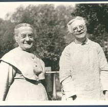 Image of [Sisters Belle and Florence, North Family] - Mount Lebanon, NY