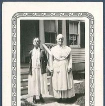 Image of [Sister Lucy Bowers and Eldress Sarah Burger] - Mount Lebanon, NY