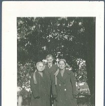 Image of [Eldress Sarah Burger, Elder Walter Shepherd, and Sister Ella Winship] - Canterbury, NH